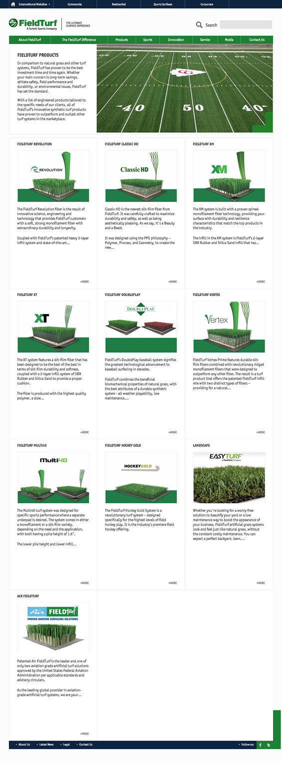 FieldTurf Products